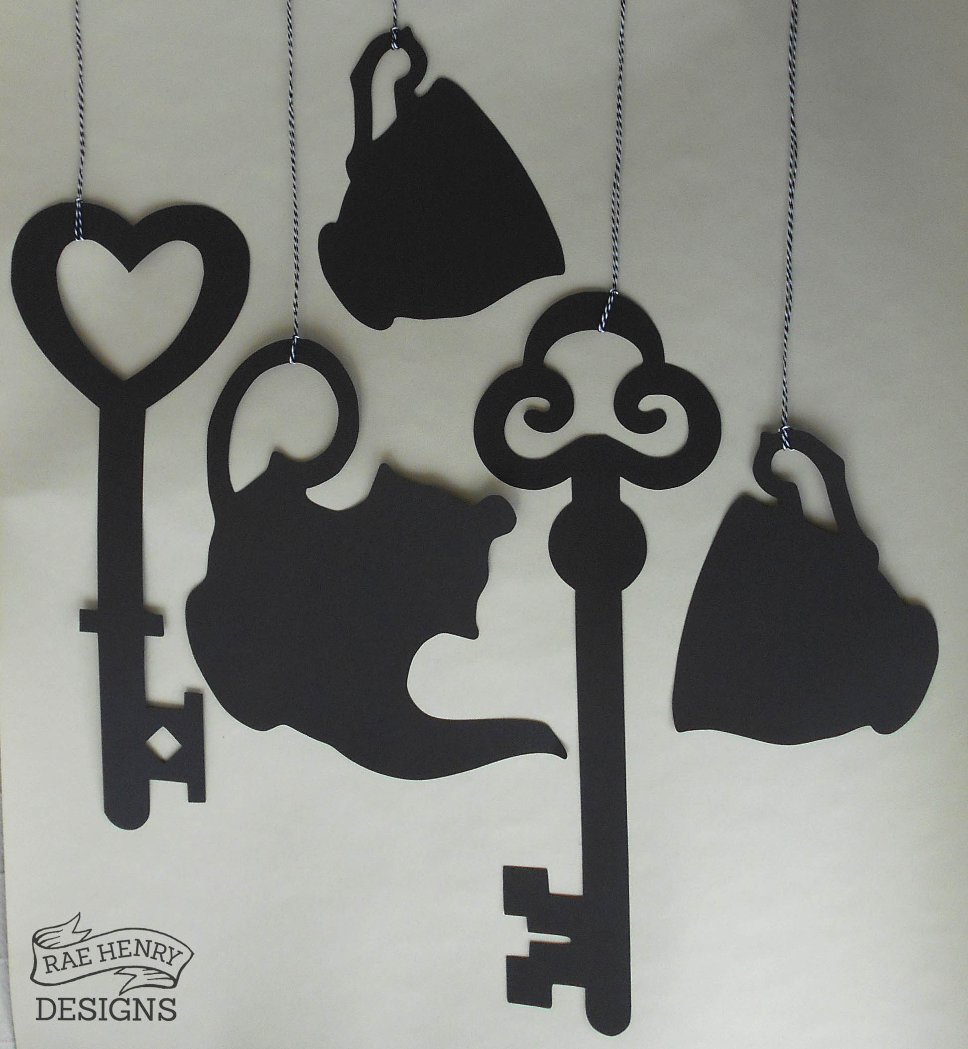Alice In Wonderland Hanging Decorationsrae Henry Designs Shop