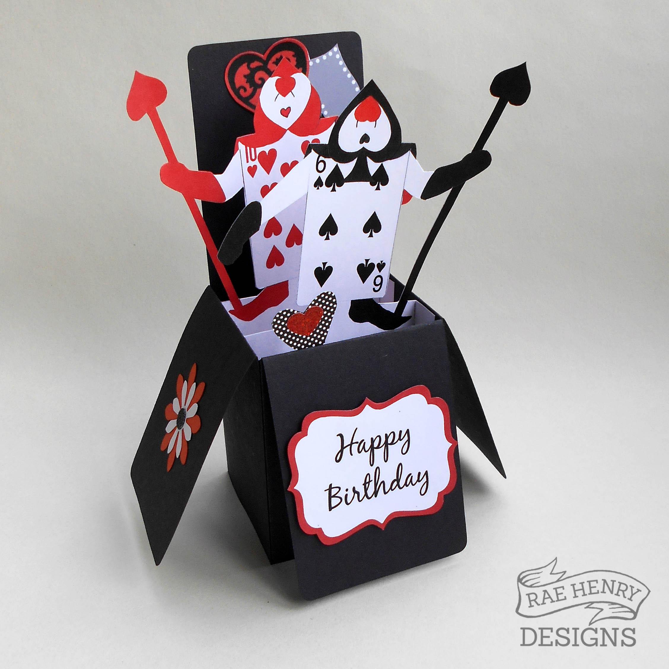 Alice In Wonderland Birthday CardRae Henry Designs Shop